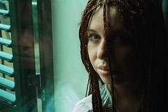 Clara. (MementoMori-) Tags: life woman reflection art lady hair amazing alone empty afro longhair redhair treccine