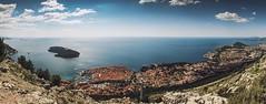 0322 Panorama Of Dubrovnik (Hrvoje Simich - gaZZda) Tags: travel blue sea sky panorama seascape mountains water clouds landscape island nikon cityscape croatia hills dubrovnik adriatic kingslanding mediteran medit nikkor283003556 nikond750 gazzda hrvojesimich