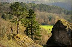 Les Roches noires, Comblain-au-Pont, valle de l'Ourthe, Province de Lige, Belgium (claude lina) Tags: landscape belgium belgique paysage comblainaupont valledelourthe provincedelige claudelina ourtheamblve
