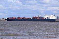Atlantic Conveyor into Gladstone lock (Gareth Garbutt) Tags: acl rivermersey atlanticcontainerline atlanticconveyor