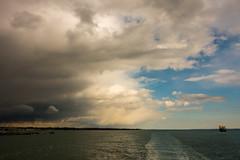 Southampton Water (Andy Latt) Tags: sea sky clouds coast sony shore southampton southamptonwater andylatt rx100m3 dsc01325r