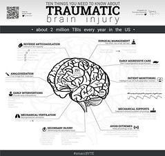 10 Things About TBI by William Knight Infographic by Tommaso Squizzato