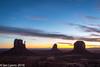 Sunrise, Monument Valley Navajo Tribal Park (IanLyons) Tags: travel arizona usa dawn twilight awesome scenic northamerica monumentvalleynavajotribalpark westmitten themittens merrickbutte eastmitten oljatomonumentvalley