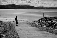 Estuary (evans.photo) Tags: people wales landscape waiting estuary ceredigion aberdovey
