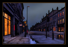 Deserted Street, Deansgate (A Digital Artist) Tags: street england building architecture clouds manchester northwest lancashire citycentre hdr manchestercity deansgate canon1855mm kevinwalker canon1100d