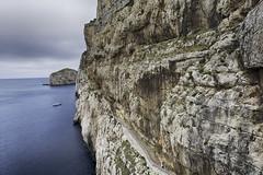 Zugangsweg zur Neptungrotte (lobanov129) Tags: sardegna di capo sardinien grotta caccia nettuno