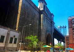 #Manhattan #bridge  in #Brooklyn #NewYork #manhattan  #manhattanbridge (lelobnu) Tags: bridge newyork brooklyn us unitedstates manhattan manhattanbridge