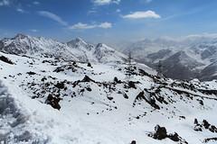 / Elbrus region (dariamyasina) Tags: mountain snow mountains nature landscape russia outdoor caucasus mountainside elbrus piste