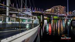 Sydney Harbour (RajeshMannanPhotography) Tags: sea night lights sydney australia nightlight