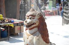 Staue at the Stupa (Jgunns91) Tags: travel nepal travelling religious temple nikon asia peace buddhism wanderlust explore discover natgeo swayumbhunath