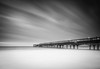 Speeding On By (Stu Meech) Tags: morning sea bw english sunrise silver dawn pier early seaside nikon long exposure waves little hard cc lee d750 pro filters grad channel stopper lightroom 1635 boscombe efex 06nd