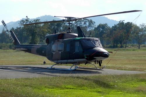 35010 / Bell 212 / cn 35010 / Royal Thai Army School / Hua Hin / 06Jan16 /