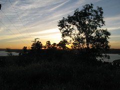 Sonnenuntergang ber dem See (pilgerbilder) Tags: pilgern pilgerfahrt pilgertagebuch vadellaplata cceresalcntara