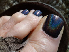 KB Shimmer - Coal In One (toepaintguy) Tags: she boy man sexy male men guy feet beautiful kids fun foot gold grey one amazing cool nice rainbow perfect paint pretty masculine sandals painted gorgeous nail great gray style polish mani glossy attractive finish stunning manicure pedicure coal he kb sandal polished shimmer stylish paints holographic lacquer in holo pedi lacquered polishes