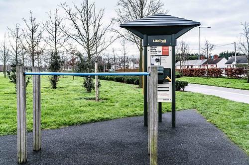 Wind Powered Public Park In Clongriffin Dublin [Father Collins Park]-110995