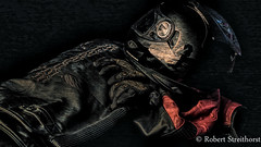 My Guardians (Robert Streithorst) Tags: motorcyle gear helmet jacket gloves graphic texture robert streithorst