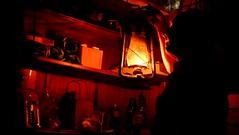 In my man cave (cupitt1) Tags: light warmth lantern kero cellar ambience kerosene