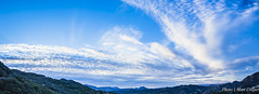 After The Rain (MarcCooper_1950) Tags: blue sunset sky panorama mountains clouds landscape losangeles nikon malibu hills tokina nikkor santamonicamountains hdr sanfernandovalley cloudysky calabasas lightroom d810 d818 tokina1116mm wideanglelandscape