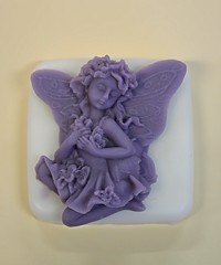 Purple Fairy $3.00 (Clelian Heights) Tags: fairy soaps unscented decorativesoaps cleliansoaps