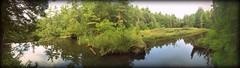 s h e l v i n g (MonroeLea) Tags: new york panorama lake rock george adirondacks falls waterfalls greenery shelving ponds photostream iphone
