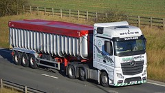 SN14 DTV (panmanstan) Tags: truck wagon mercedes yorkshire transport lorry commercial vehicle freight mp4 bulk haulage hgv southcave actros a63