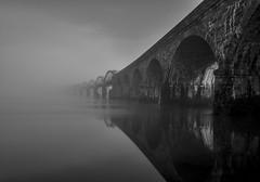 mmmmnmmmm (Robgreen13) Tags: longexposure bridge mist water fog cornwall railway devon ndfilters rivertavy 17arch