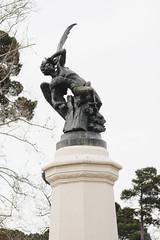 (Coral G. Granda) Tags: estatua retiro parquedelretiro angelcaido