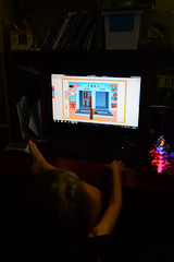 Math Games (Vegan Butterfly) Tags: game cute girl computer person kid vegan education child desk adorable games math mathematics educational homeschool homeschooling educationcom