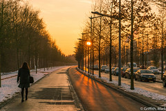Sunset Streets (Mark Griffith) Tags: work amazon amazoncom luxembourg sonya7rii 20160121dsc01706