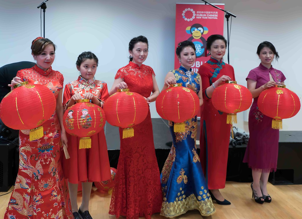CHINESE COMMUNITY IN DUBLIN CELEBRATING THE LUNAR NEW YEAR 2016 [YEAR OF THE MONKEY]-111615