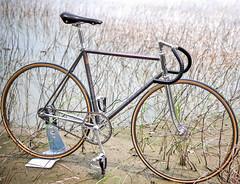 my COLNAGO / Taipe! (father TU) Tags: track steel super record fixie fixedgear colnago pista bikeporn campagnolo fathertu