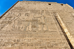 First Pylon, Mortuary Temple of Ramses III, Medinet Habu, Egypt (bfryxell) Tags: egypt luxor thebes medinethabu firstpylon mortuarytempleoframsesiii necropolisofthebes