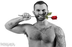 Valentine's Day with Nick Wagner 20 (Violentz) Tags: portrait hairy man male guy heart body muscle handsome bodybuilding fitness fury valentinesday physique tattooed patricklentzphotography nickwagner