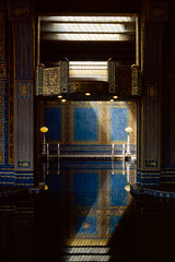 Roman Pool (Colton Davie) Tags: california film june 35mm iso100 kodak slide roadtrip hearstcastle reversal elitechrome100 romanpool 2013 canoneoselan7