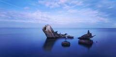 High Tide in Blue (Davor Desancic) Tags: california longexposure fremont donedwards