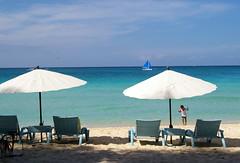 Parasols on White Beach, Boracay island, Philippines (Darius Travel Photography) Tags: pentax philippines boracay filipinas pilipinas boracayisland    pentaxk100dsuper   filipinai