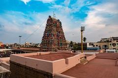 Temple Tower-2 (Padmanabhan Rangarajan) Tags: india festival temple chennai chariot carfestival parthasarathytemple nikond750