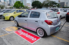 _DSC3090 (kramykramy) Tags: g4 mirage greenfield mph mitsubishi compact hatchback carshows subcompact 6thgen 3a92 miragepilipinas kenyos kenyoscrew