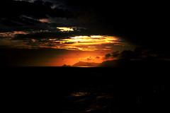 Sunset Mountain 3 (Fabio Sola Penna) Tags: sunset orange sun mountain rio de nice janeiro da barra tijuca beaultiful
