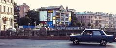 Mondrian's House (yuzvir) Tags: house car saintpetersburg lada pietmondrian