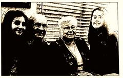 """Grandpa's birthday party"" (Ken Whytock) Tags: birthday girls people woman man grandmother grandpa grandparents nana 80 poppo"