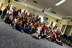 (hanminpark1) Tags: england dance unitedkingdom workshop gb egham royalholloway kpop