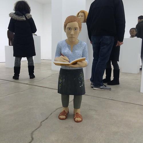 Claudette Schreuders #riadarttour #woodsculpture