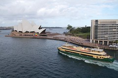 Ferry leaving Circular Quay (Val in Sydney) Tags: cruise house ferry opera sydney australia son quay nsw circular australie