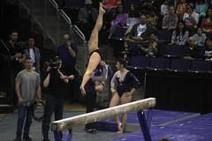Allie Northey beam (2) (Susaluda) Tags: uw sports gold washington university purple huskies gymnastics dawgs