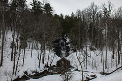 Orleans Falls spring thaw (runningman1958) Tags: winter nature water landscape outdoors nikon falls 365 winterscene 365dayproject d7200 nikond7200 orleansfalls