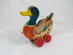 1950s Verhofa Duck Pull-Toy (Brickadier General) Tags: wood vintage toy toys pull wooden duck lego antique german 1950s ddr holz spielzeug holzspielzeug visso not verhofa gecevo