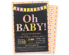 OH BABY Girl Baby Shower (partyprintexpress) Tags: birthday pink girls boy party baby boys girl glitter kids modern children mom shower gold jump 1st sweet unique country pass ticket trendy vip christening whale 16 bling supplies unicorn invite diva chevron communion printed lumberjack babyshower invitations sixteen burlap lanyard printables glitz vippass