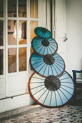 (c) Wolfgang Pfleger-9444 (wolfgangp_vienna) Tags: blue umbrella asia asien blau laos luangprabang luang prabang schirm