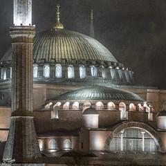 Trkiye / Istanbul / Ayasofya (Pablo A. Ferrari) Tags: longexposure urban building night turkey long exposure turkiye istanbul historical ottoman byzantine hagiasofia turchia ayasofya turkei pabloferrariphotography